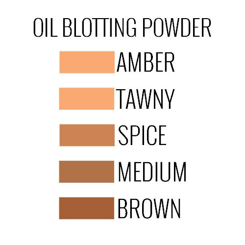 Luxury Oil Blotting Pressed Powder - FLORI ROBERTS