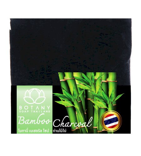 BAMBOO CHARCOAL HANDMADE SQUARE SOAPS