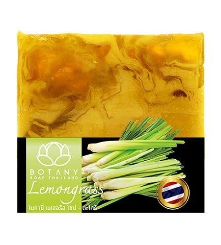 LEMONGRASS HANDMADE SQUARE SOAP