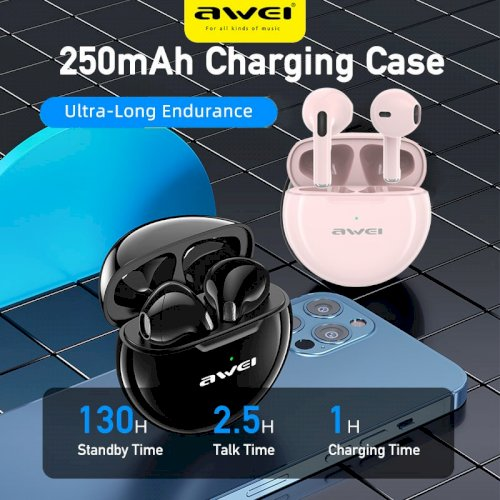 AWEI - T17 Bluetooth Earbuds Microphone