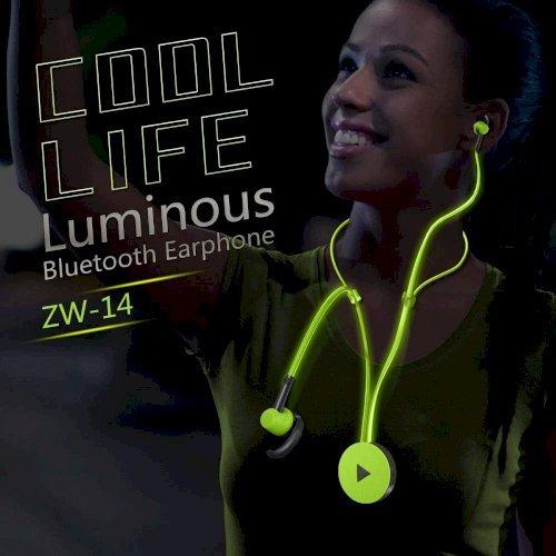 Luminous Bluetooth in Ear Stereo Sport Earphone with Mic